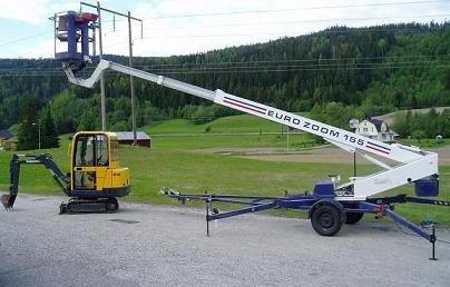 Skylift uthyres sundsvall
