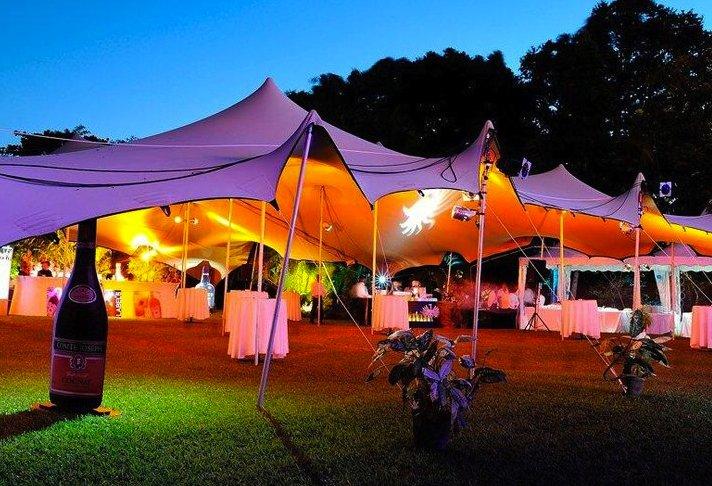 fest och tält