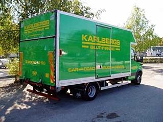 Hyra lastbil med kran stockholm