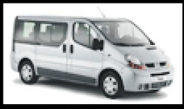 Biluthyrning i Fredericia, Toyota Hiace 8 seater